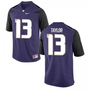 Limited Kids Purple Washington Huskies College Jerseys of Kendyl Taylor