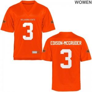 OSU Kenneth Edison-McGruder Ladies Limited Jerseys S-2XL - Orange