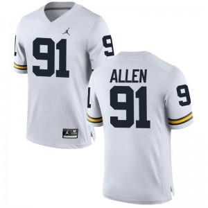 University of Michigan Jerseys S-2XL of Kenny Allen Womens Game - Jordan White
