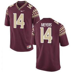 FSU Seminoles Limited Garnet For Men Kyle Meyers Jerseys S-3XL
