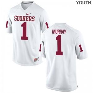 Kyler Murray OU Sooners For Kids Jerseys White Football Game Jerseys