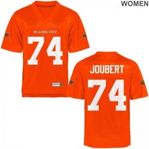 Larry Joubert Womens Oklahoma State Cowboys Jerseys Orange Limited Football Jerseys