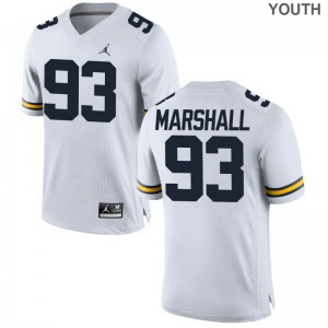 Jordan White Lawrence Marshall College Jersey Michigan Wolverines Limited Kids