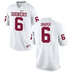 Levi Draper Oklahoma Men Jersey White Player Limited Jersey