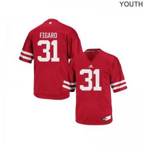 Lubern Figaro University of Wisconsin Jerseys Kids Replica Red