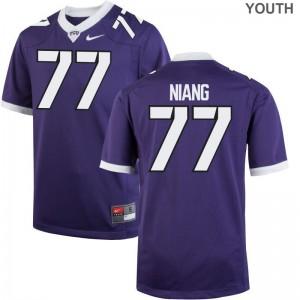 Lucas Niang Alumni Jersey Horned Frogs Kids Limited - Purple