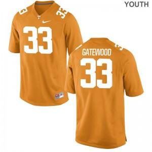 MaLeik Gatewood Jerseys Tennessee Volunteers Orange Game For Kids Jerseys
