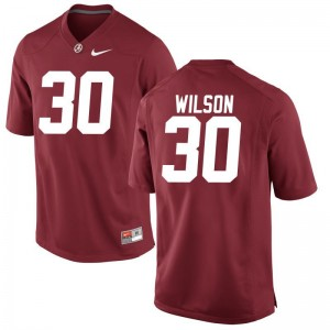 Mens Limited Alabama Crimson Tide Jersey S-3XL Mack Wilson - Red