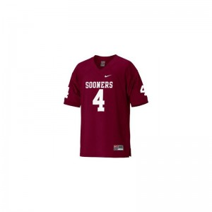 Malcolm Kelly OU Sooners Player Jersey Limited Red Ladies Jersey