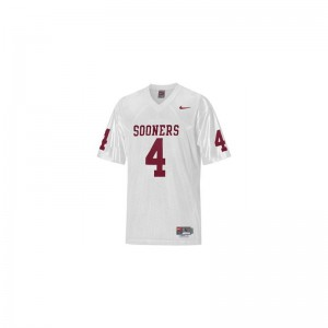 Oklahoma Sooners Malcolm Kelly Jersey Ladies Game - White
