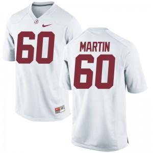 Malik Martin Womens Player Jersey White Limited Alabama