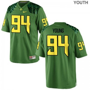 Limited Ducks Malik Young Kids Apple Green Jersey