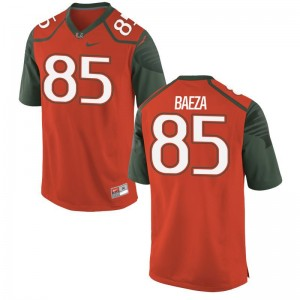 Marco Baeza Miami Player Jersey Game Men Orange Jersey