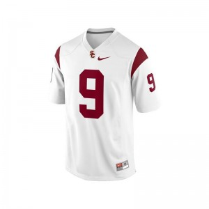 Youth Game Trojans Player Jersey Marqise Lee - White