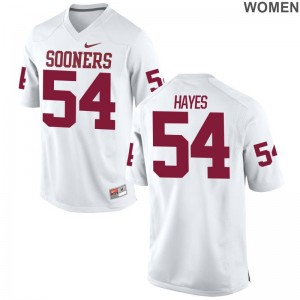 Marquis Hayes OU Sooners Ladies Game White Jerseys