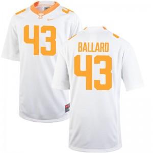 Vols Matt Ballard Jerseys Game Youth(Kids) White Jerseys