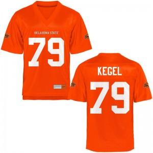 Matt Kegel Oklahoma State Cowboys For Men Game Orange High School Jerseys