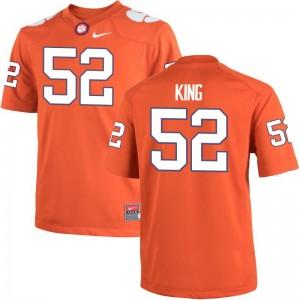 Men Orange Limited Clemson University Jersey Matthew King
