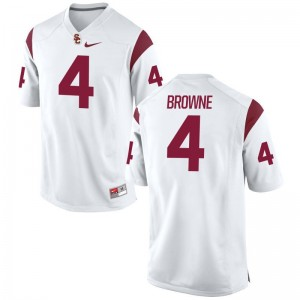 Max Browne Mens College Jersey Limited White USC