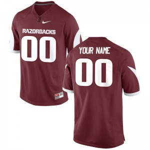 Arkansas Custom Jerseys S-3XL Limited For Men - Cardinal