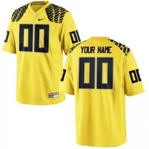 Customized Jerseys S-3XL Men UO Limited Gold