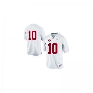 AJ McCarron Jerseys Bama Limited Mens - #10 White