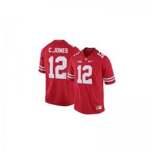 Ohio State Cardale Jones Game Men Jerseys - #12 Red