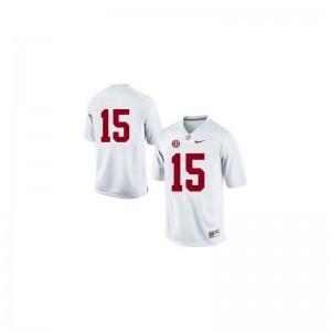 Alabama Crimson Tide JK Scott For Men Limited #15 White High School Jerseys