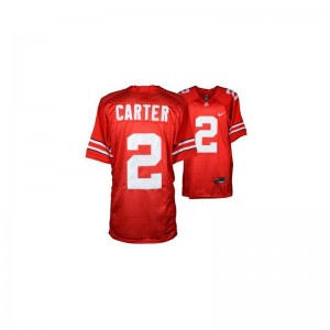 Ohio State NCAA Jerseys Cris Carter Game Men - #2 Red