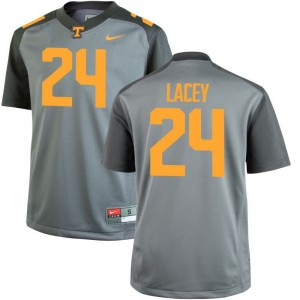 Gray Game Youth(Kids) Vols Jersey of Michael Lacey