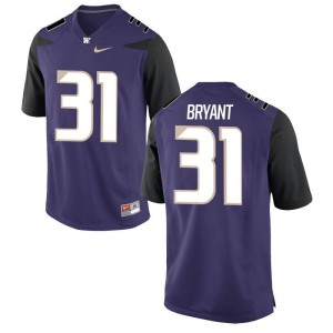 University of Washington Alumni Jersey Myles Bryant Mens Game - Purple