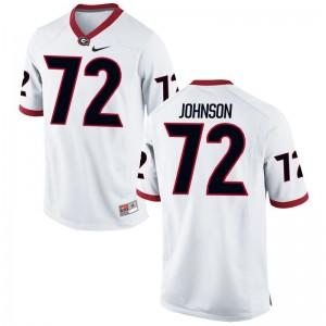 Georgia Netori Johnson Jersey S-3XL Mens Game White