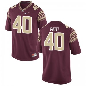 Nick Patti Seminoles Jersey Mens Limited - Garnet