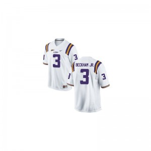 LSU Tigers Jerseys S-3XL of Odell Beckham Jr Limited For Men - White