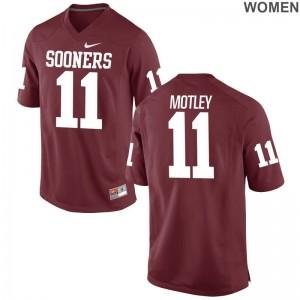 Parnell Motley Jerseys Oklahoma Crimson Limited Women Jerseys