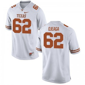 Patrick Ojeaga UT Jersey Youth(Kids) Game - White
