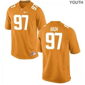 Limited Paul Bain NCAA Jersey Vols Kids Orange
