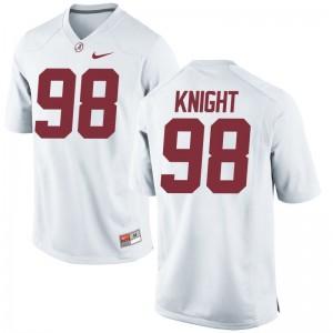 Preston Knight Bama High School Jerseys For Men Game White