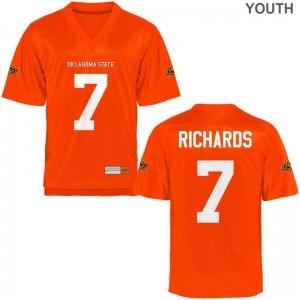 Oklahoma State Kids Orange Limited Ramon Richards Jerseys