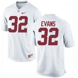 Rashaan Evans Men White Alumni Jerseys Alabama Crimson Tide Game
