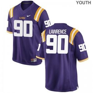 Youth(Kids) Limited LSU Alumni Jerseys Rashard Lawrence - Purple