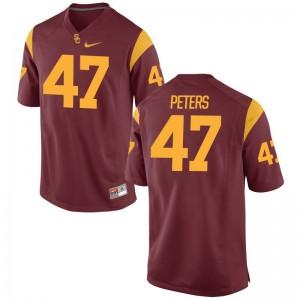 Reuben Peters For Men White Player Jerseys Game Trojans