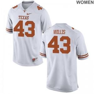 Robert Willis Longhorns Alumni Jersey Limited Ladies - White