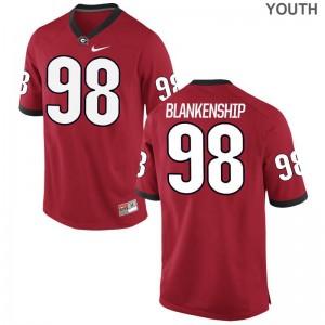 Rodrigo Blankenship Kids Jerseys S-XL University of Georgia Game - Red