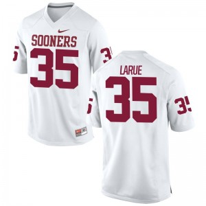 Ronnie LaRue Oklahoma Football Jerseys Limited White For Men