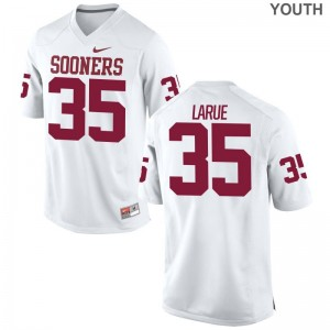 Ronnie LaRue Oklahoma Sooners Jerseys Limited Youth(Kids) Jerseys - White
