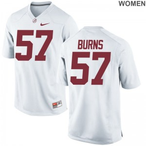 Ryan Burns For Women Jerseys Alabama Crimson Tide White Game