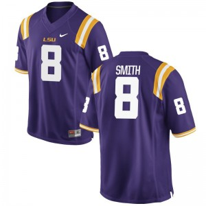 Tigers Saivion Smith Game Kids Player Jerseys - Purple