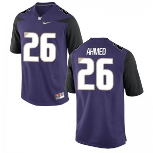 For Men Salvon Ahmed Jerseys High School Purple Game University of Washington Jerseys