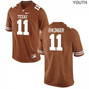 Texas Longhorns Sam Ehlinger Orange Kids Game Jerseys
